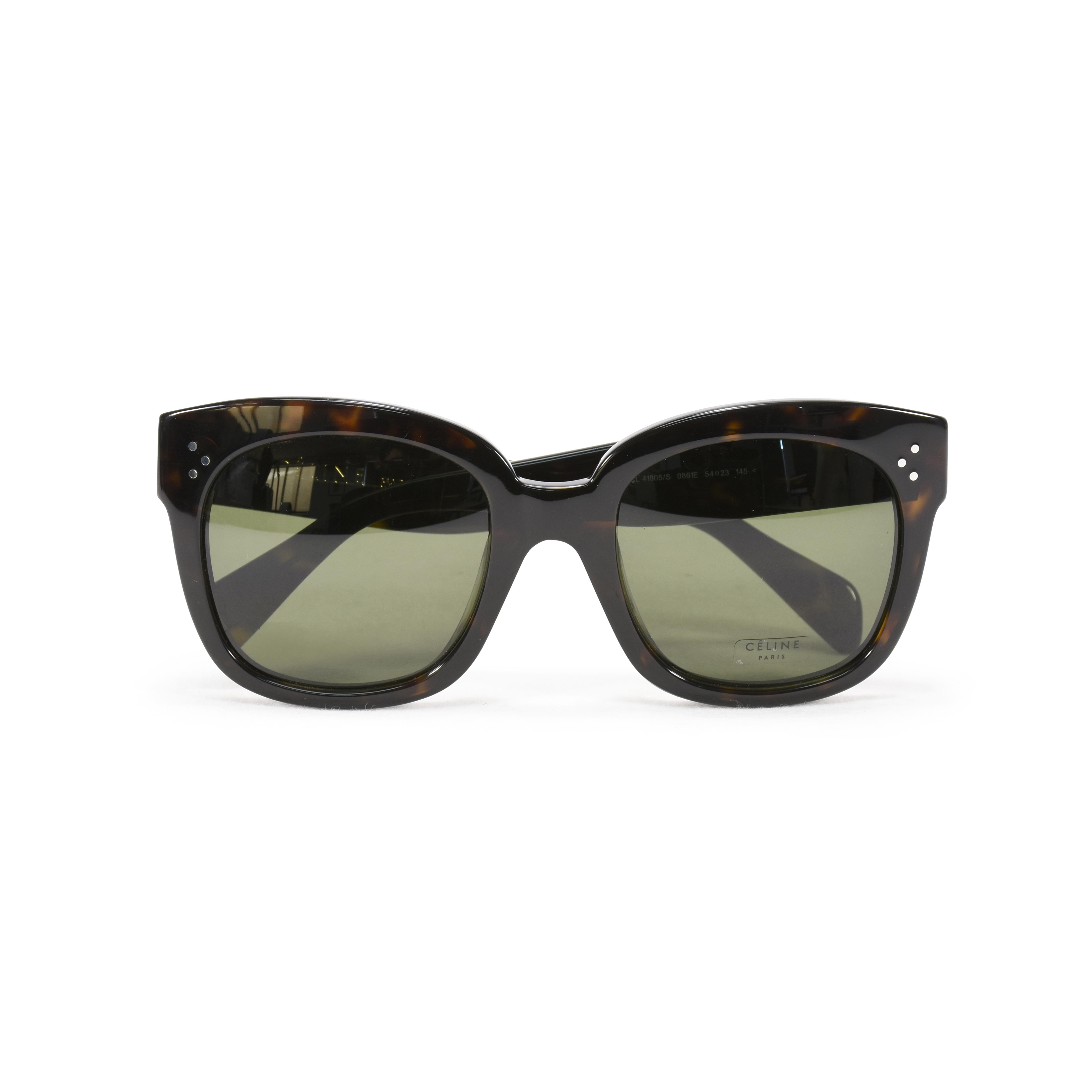 f71df7663995 Authentic Second Hand Céline New Audrey Sunglasses (PSS-356-00009 ...