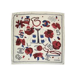 Chanel N°5 Silk Scarf