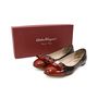 Authentic Second Hand Salvatore Ferragamo Varina Two-Toned Flats (PSS-344-00001) - Thumbnail 5