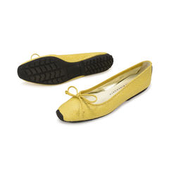 580caefc2d Authentic Second Hand Tory Burch Crocodile Embossed reva Flats (PSS ...
