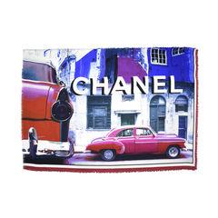 Chanel printed cuba silk scarf 1?1498539473