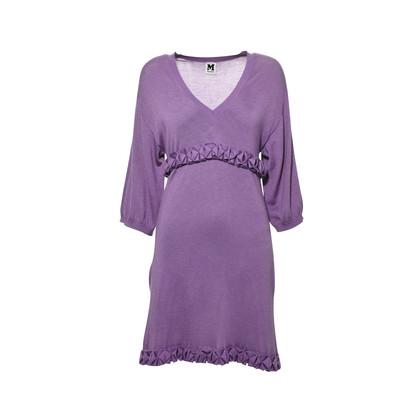 Missoni Purple Knit Dress