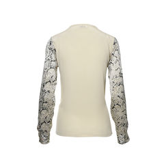 Equipment snake print top 2?1498558554