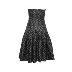Alexander mcqueen strapless black dress 2?1498558741