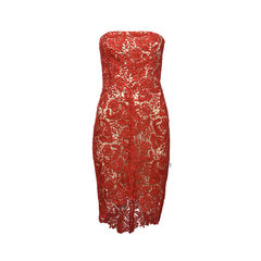 Courtney Strapless Lace Dress