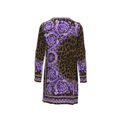 Versace printed tunic dress 2?1498561897