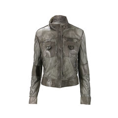 Lasercut Leather Jacket