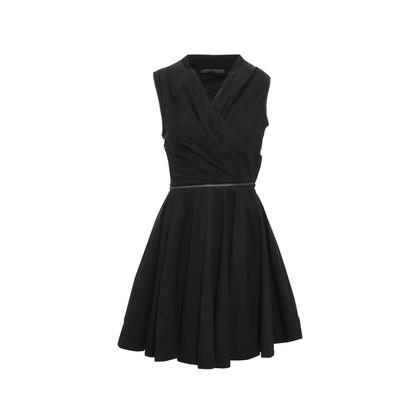 Authentic Second Hand All Saints Zipper Black Dress (PSS-061-00020)