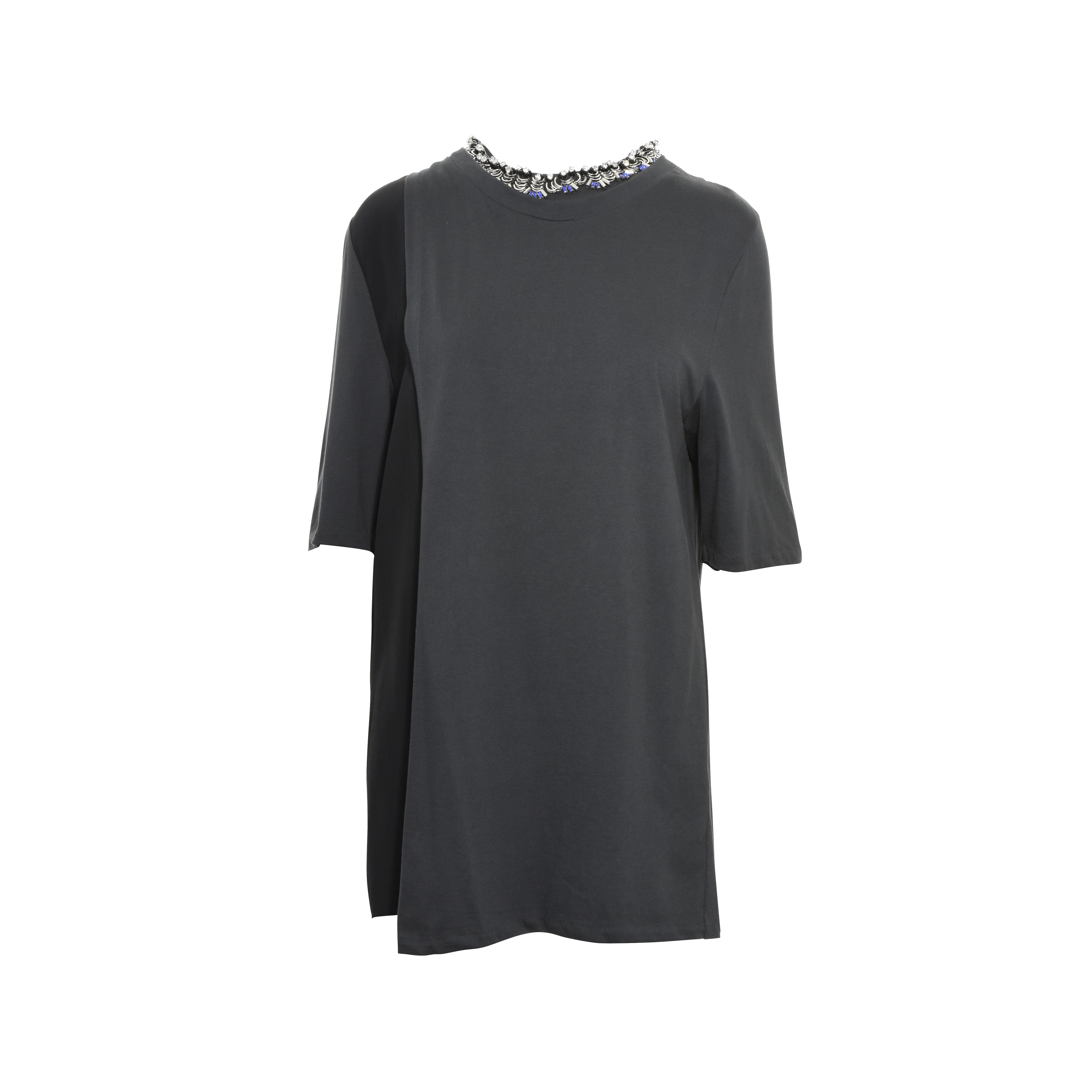 584b408442e976 Authentic Second Hand 3.1 Phillip Lim Embellished Wrap Top (PSS-356-00014)  - THE FIFTH COLLECTION