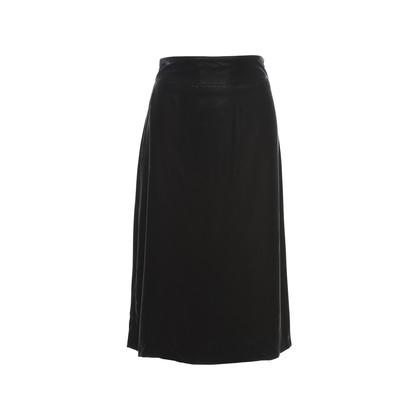 Authentic Second Hand Jil Sander Velvet Skirt (PSS-246-00261)