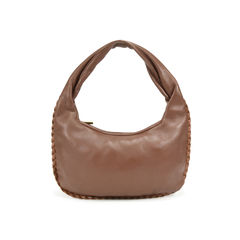 Bottega veneta braided leather trimmed hobo 2?1499751728