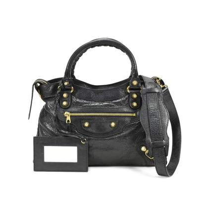 Balenciaga Giant Town Bag Black