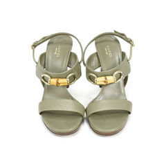 Bamboo Horsebit Sandals
