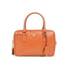 Saffiano Leather Doctor's Shoulder Bag
