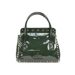 Valentino patent rockstud shoulder bag 2?1499843816