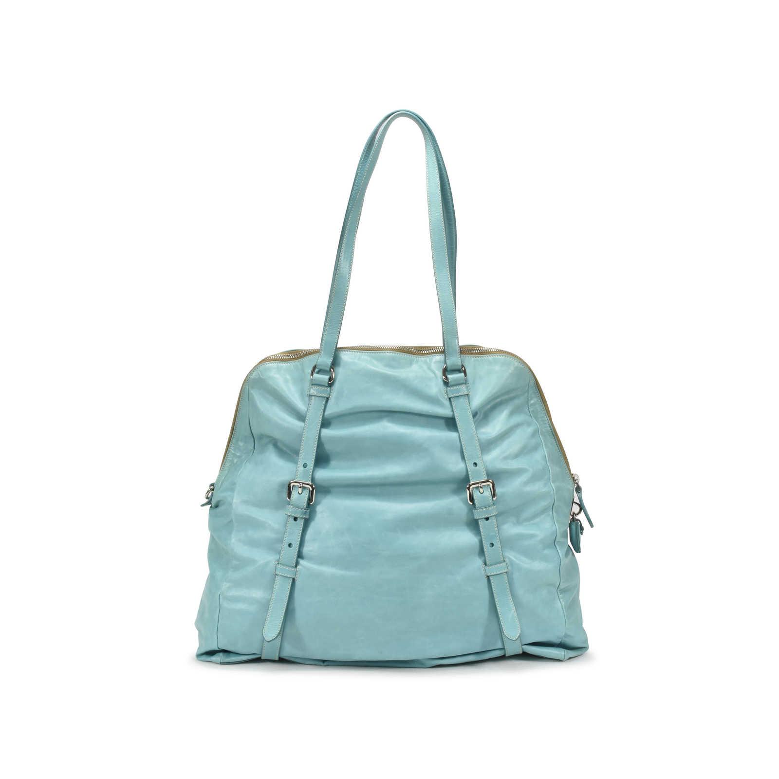 c1c3cf866924 ... Authentic Second Hand Prada Dome Bag (PSS-126-00016) - Thumbnail 1 ...