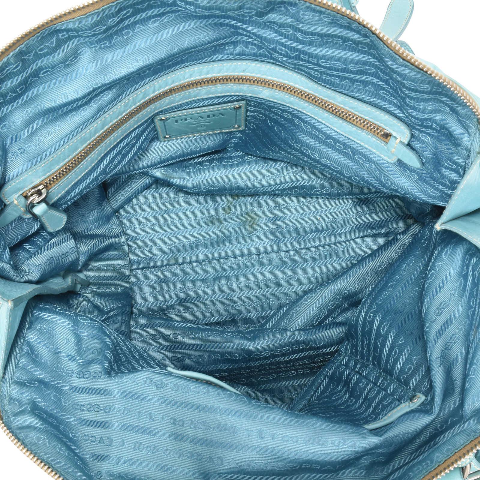 0b415b928490 ... Authentic Second Hand Prada Dome Bag (PSS-126-00016) - Thumbnail 5