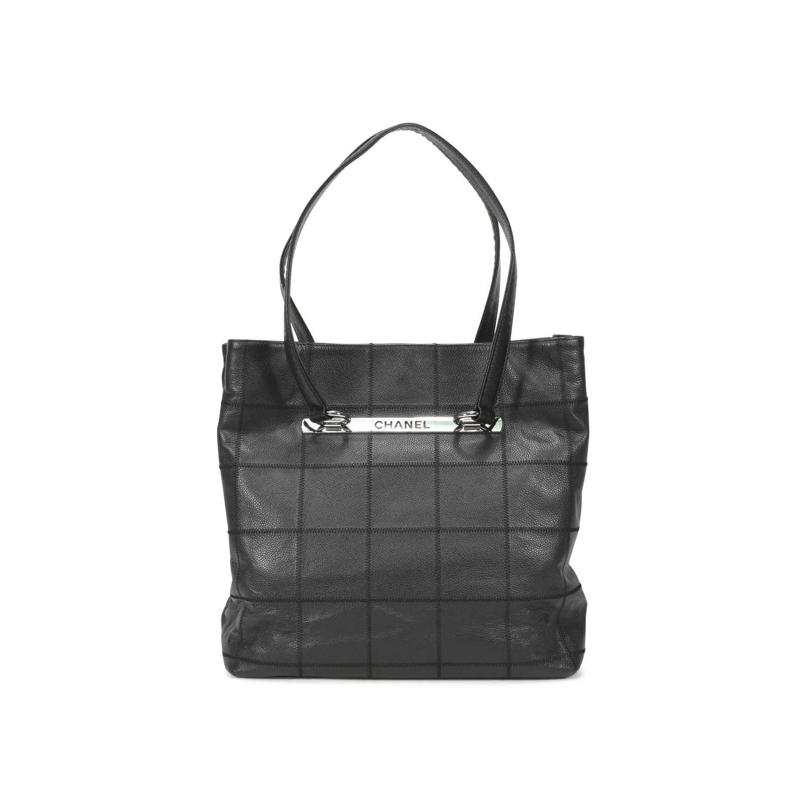aa4cc0cf5 Authentic Second Hand Chanel Caviar Square Quilted Tote Bag (PSS-126-00017)  ...