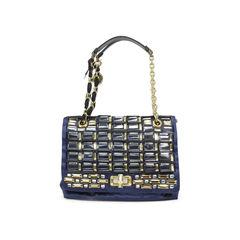 Happy Medium Embellished Satin Bag