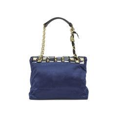 Lanvin the happy medium embellished satin shoulder bag 2?1500450631