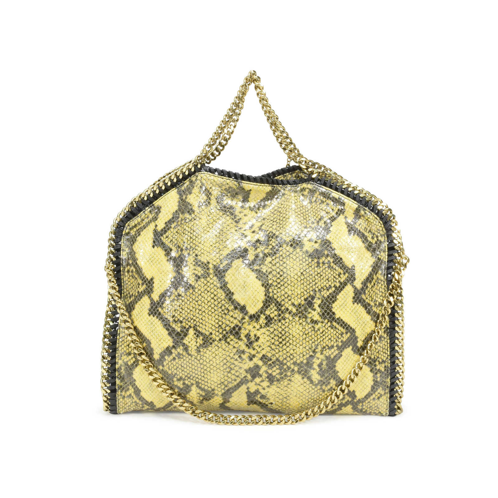 4a1545fc7563 Authentic Second Hand Stella McCartney Falabella Faux Python Shoulder bag  (PSS-361-00025 ...