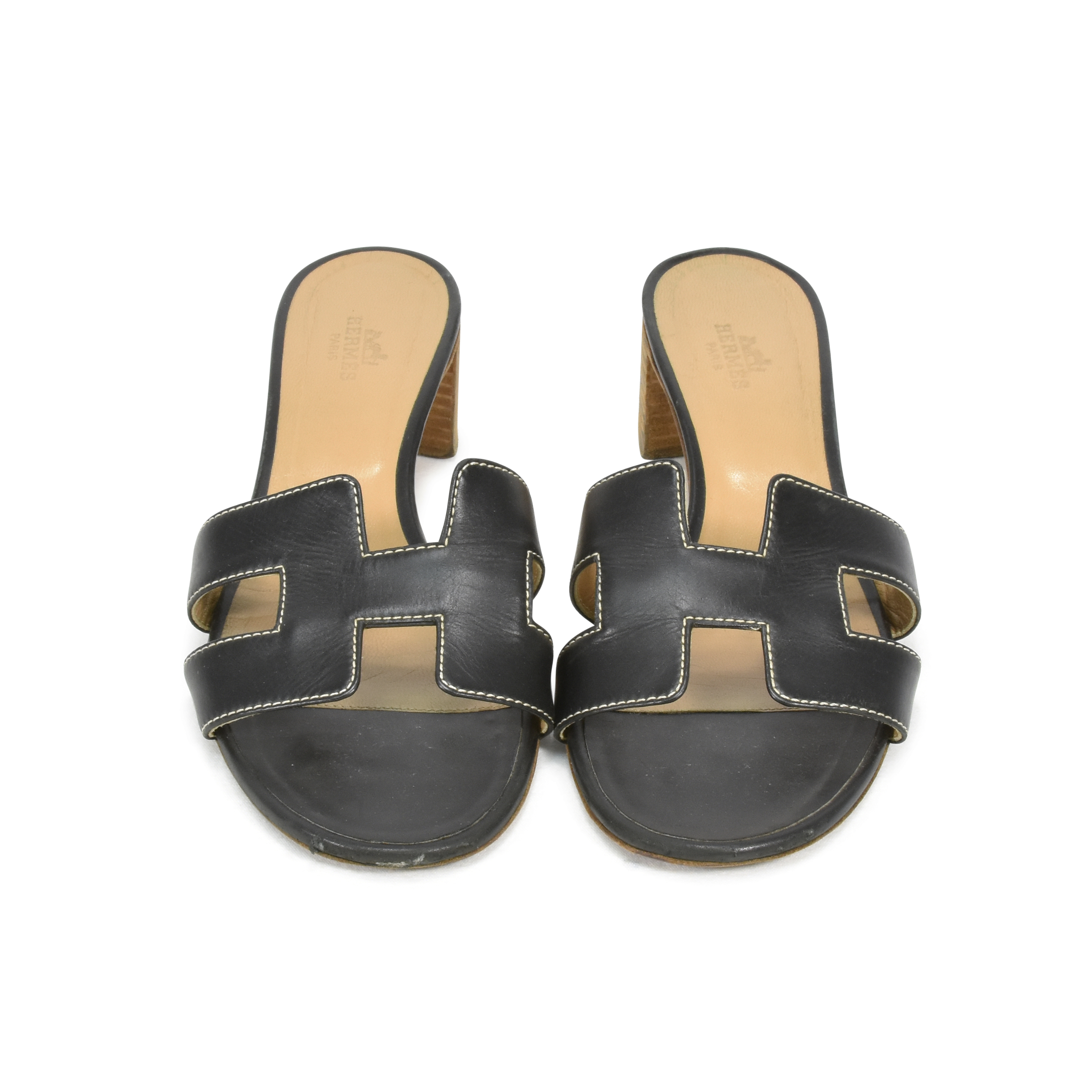 fe975ba424f4 Authentic Second Hand Hermès Oasis Sandals (PSS-361-00026)