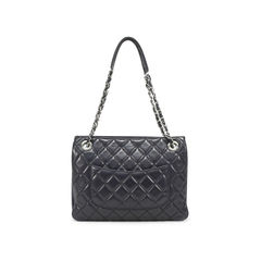 Chanel small zip shopping 3 bag 2?1500866586