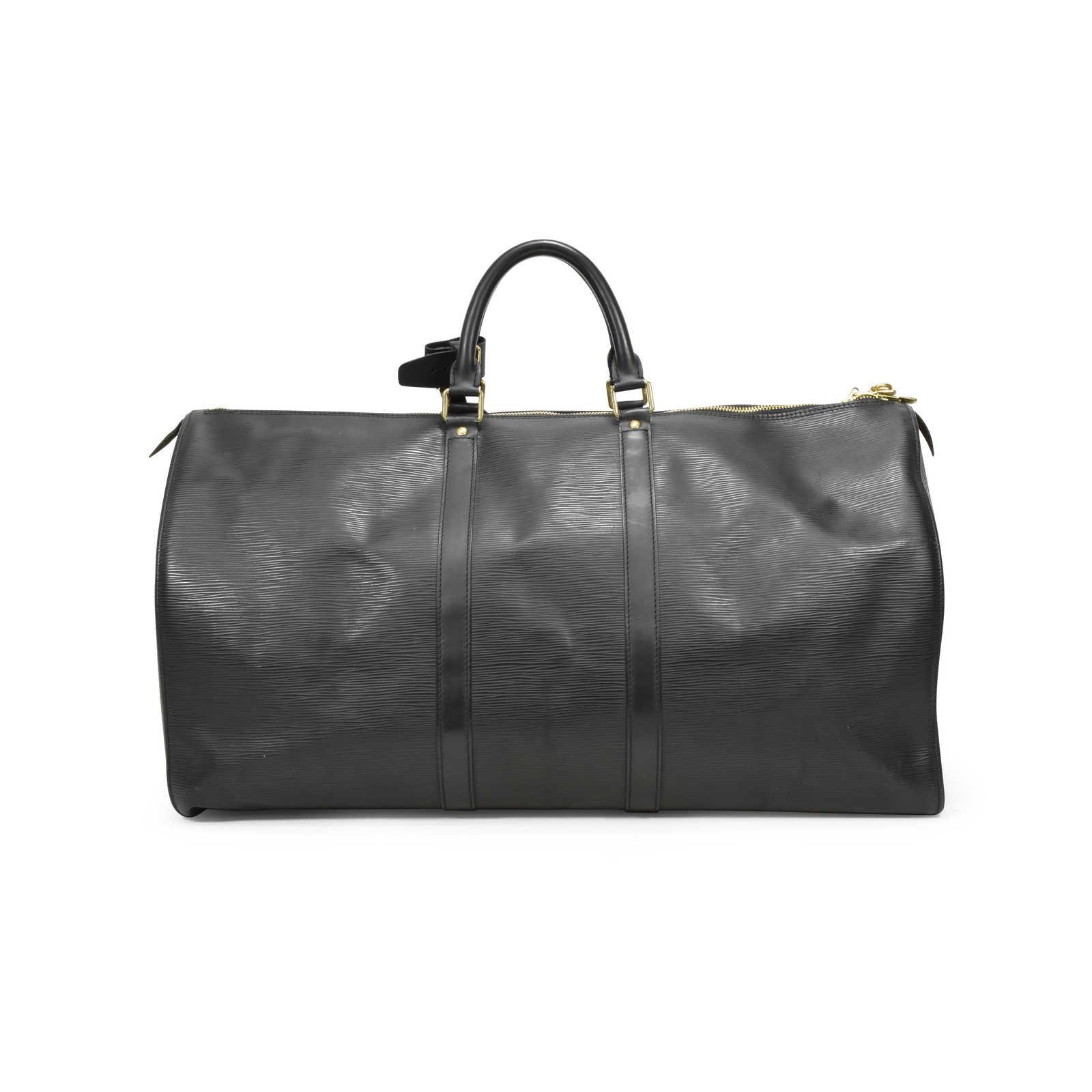 78fdfec7256 Authentic Second Hand Louis Vuitton Epi KeepAll 55 (PSS-126-00019 ...