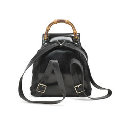 Gucci bamboo backpack black 2?1500954750