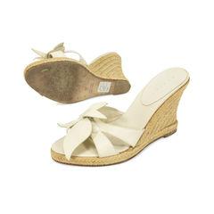 Celine wedge espadrille sandals 2?1500956656