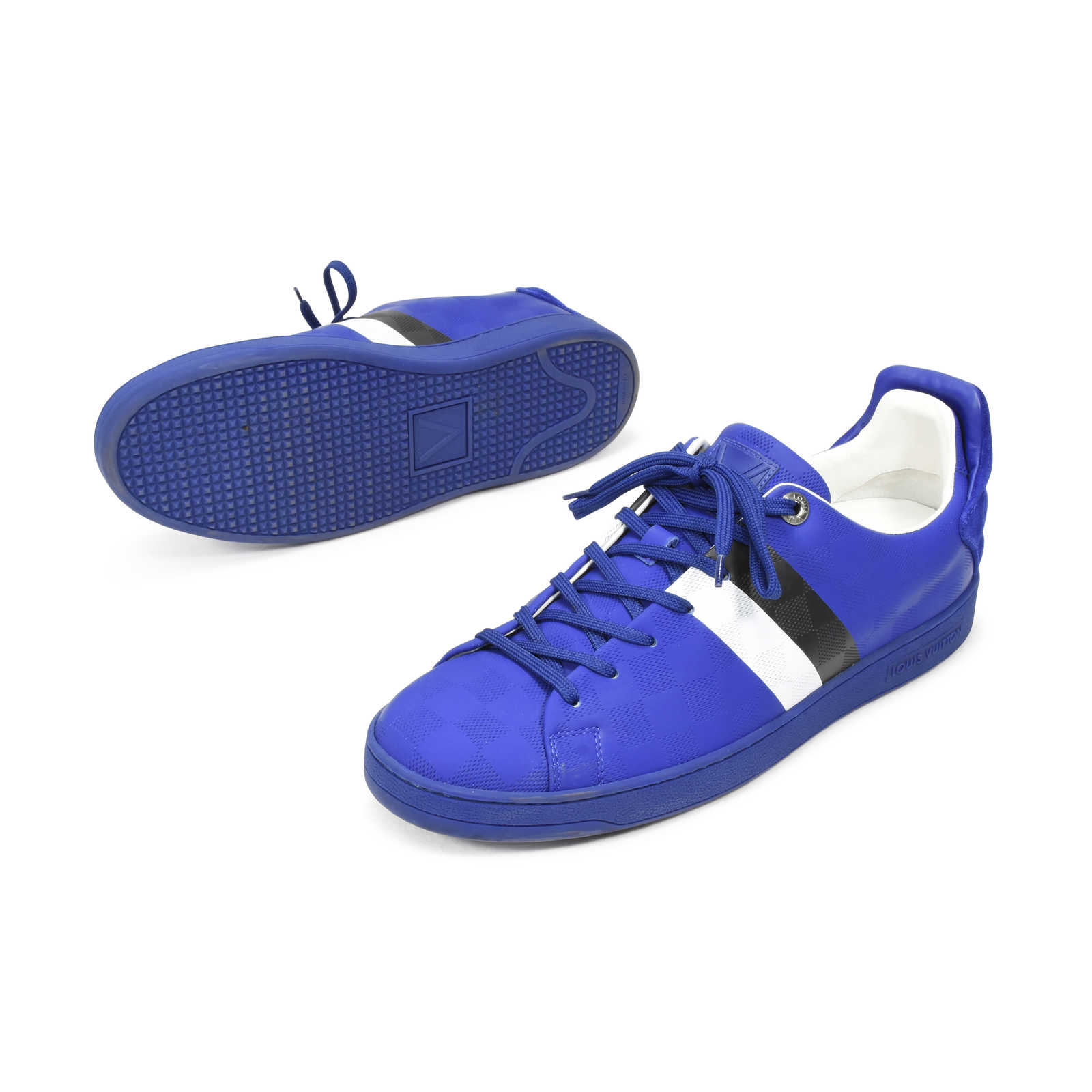 e27a3dca6698 ... Authentic Second Hand Louis Vuitton Frontrow Sneaker (PSS-332-00018) -  Thumbnail ...