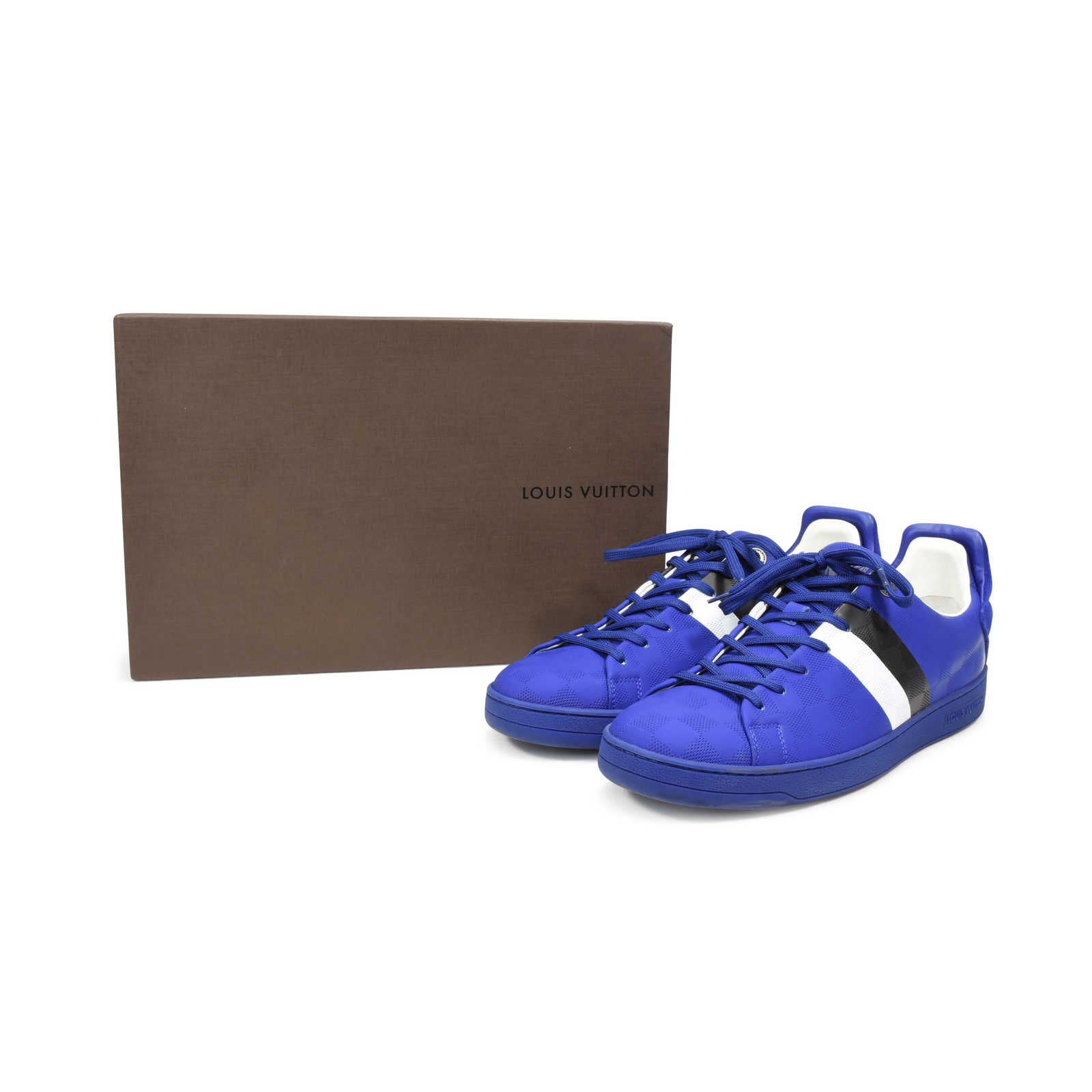 10a44364c6344 ... Authentic Second Hand Louis Vuitton Frontrow Sneaker (PSS-332-00018) -  Thumbnail. View Image