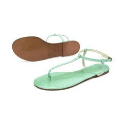 Avec moderation t strap python sandals 3?1500972583
