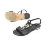 Authentic Second Hand Albano Chain Leather Sandals (PSS-375-00005) - Thumbnail 3
