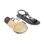 Authentic Second Hand Albano Chain Leather Sandals (PSS-375-00005) - Thumbnail 4