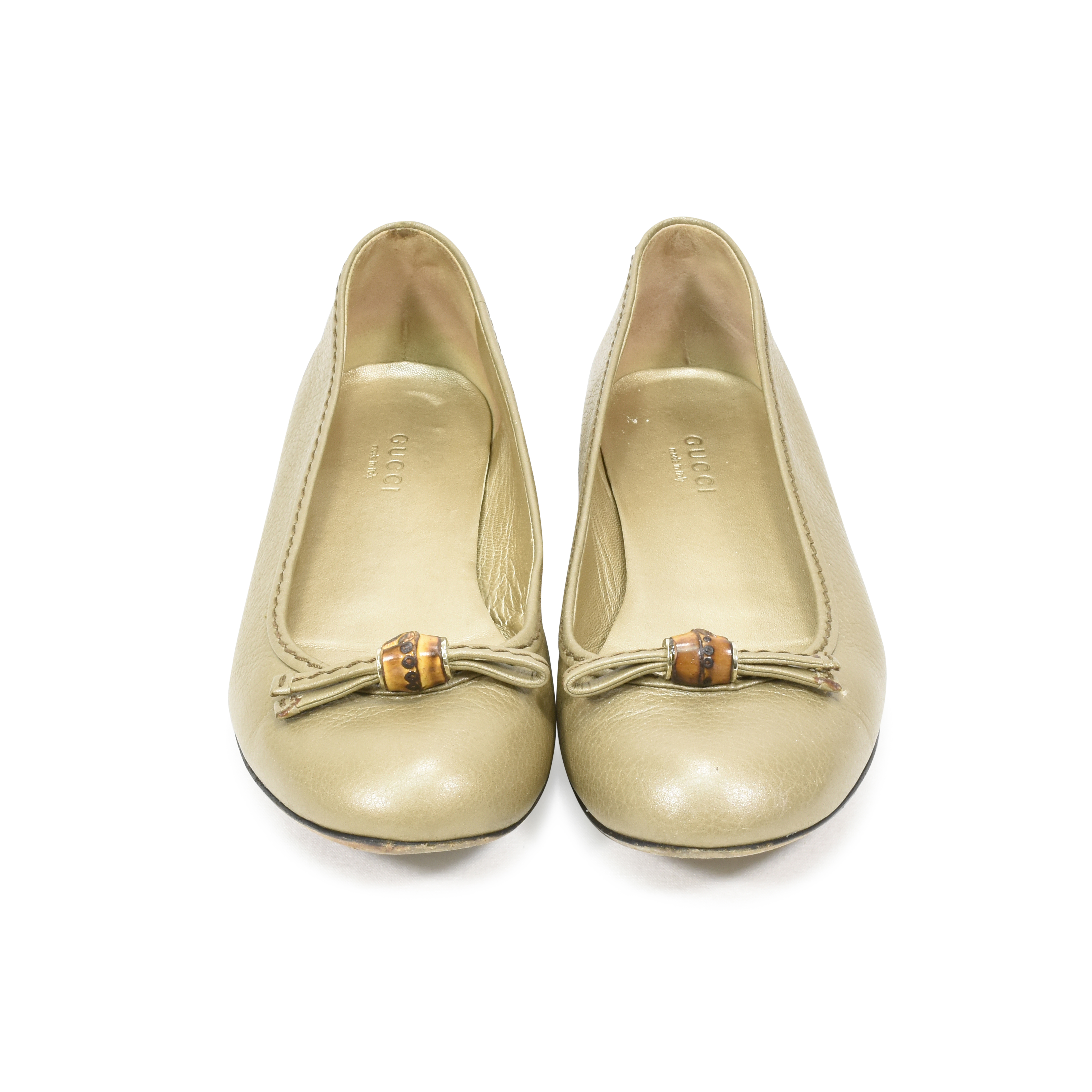 5d33ef17bb9 Authentic Second Hand Gucci Ballerina Flats (PSS-375-00004)