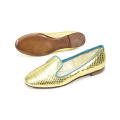 Avec moderation python metallic loafers 4?1500972958