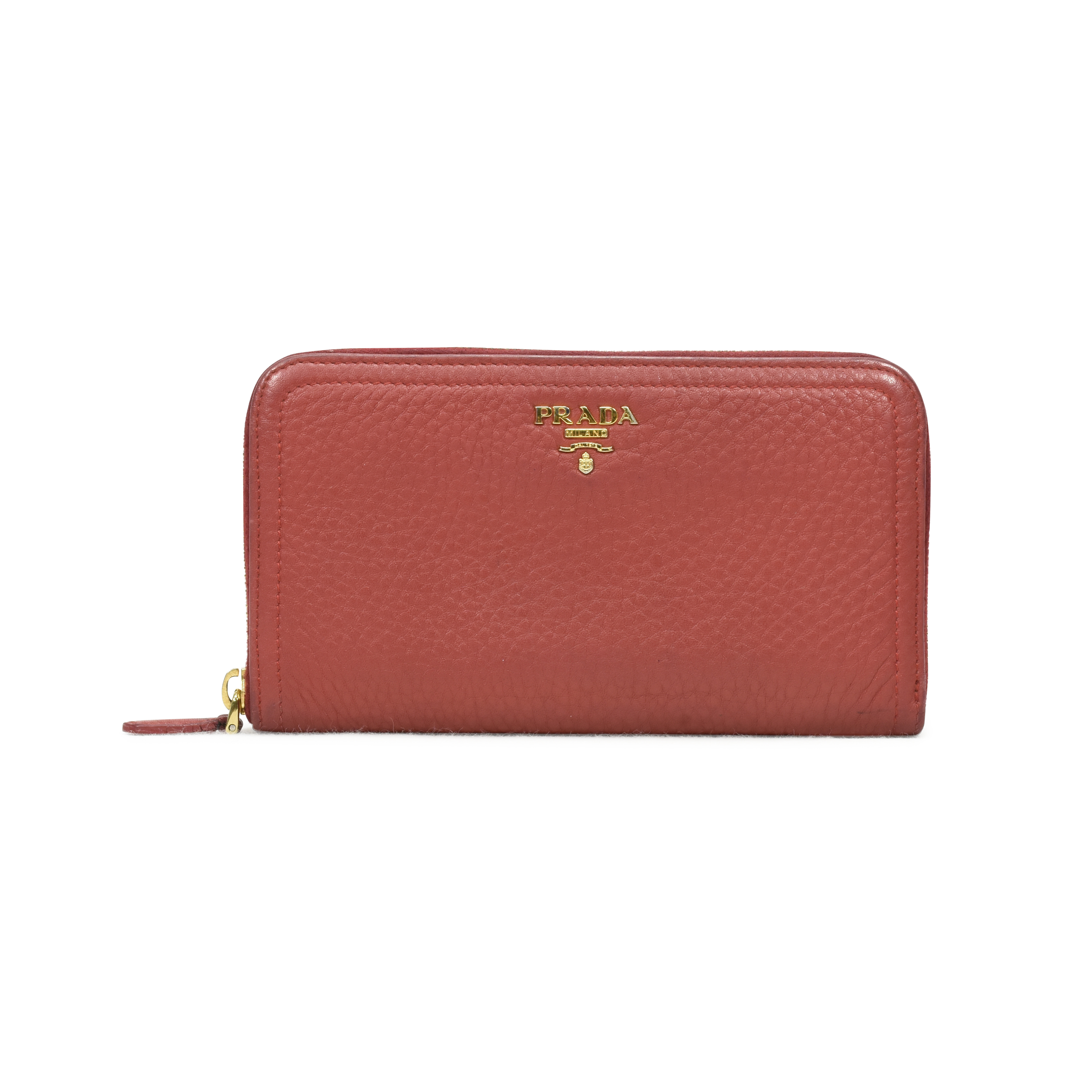 529314a0d9 Authentic Second Hand Prada Portafoglio Portamon Zipper Wallet  (PSS-375-00011) | THE FIFTH COLLECTION