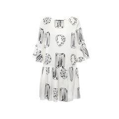 Diamond Printed Dress