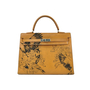 Authentic Vintage Hermès Tattooed Chamonix Gold Kelly 35 (TFC-107-00018) - Thumbnail 0