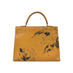 Hermes chamonix gold kelly 35 2