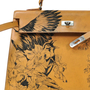 Authentic Vintage Hermès Tattooed Chamonix Gold Kelly 35 (TFC-107-00018) - Thumbnail 4