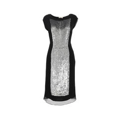 Sequin Panelled Dress