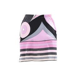 Emilio pucci printed mini skirt 2?1501829381
