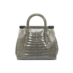 Crocodile Frame Bag