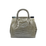 Unbranded Crocodile Frame Bag - Thumbnail 1