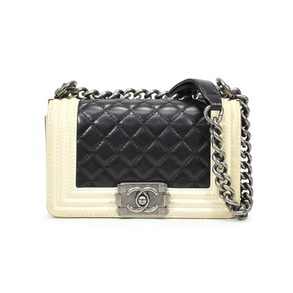 Chanel Small Two Tone Boy Bag