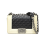 Chanel Small Two Tone Boy Bag - Thumbnail 0