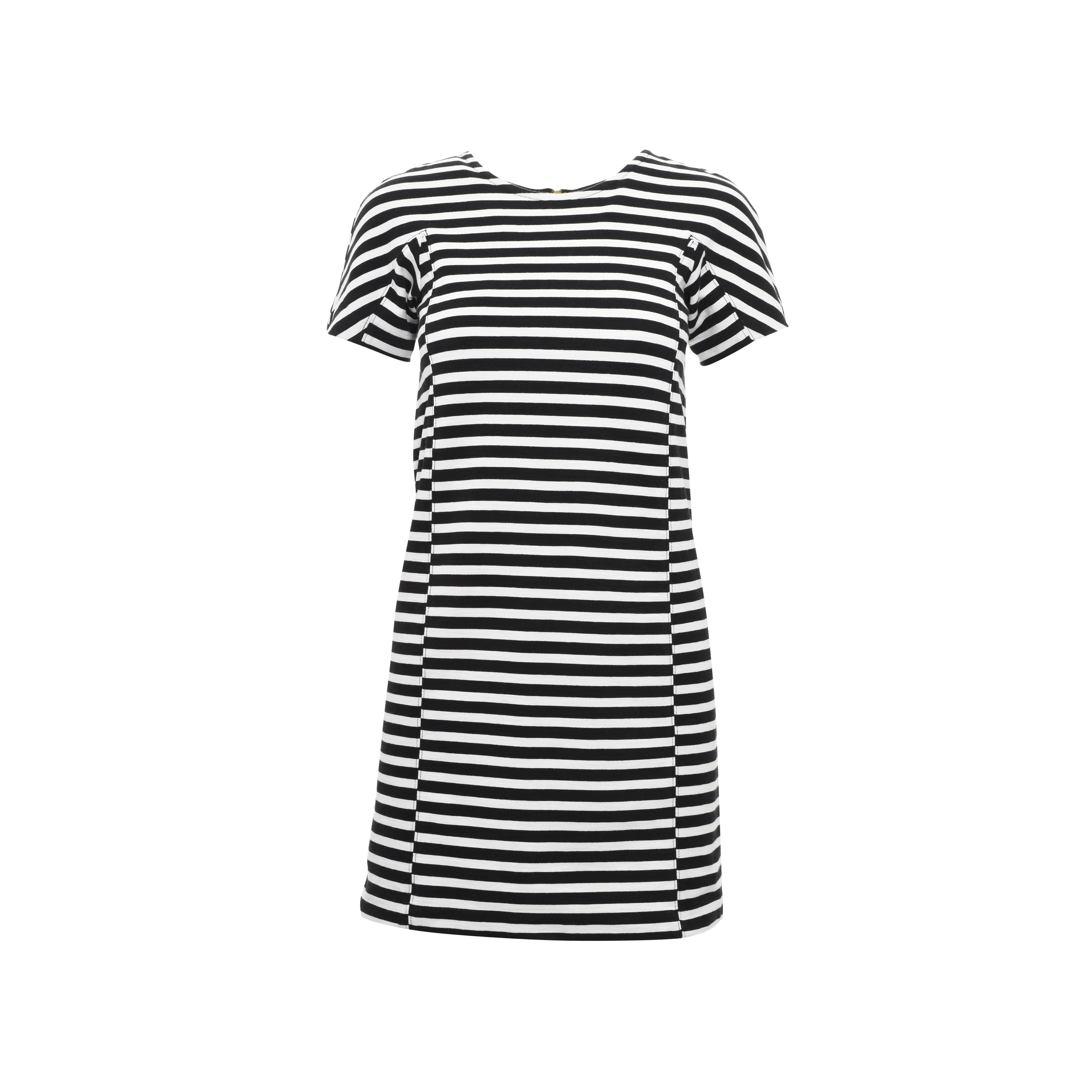 f881cc8b64b3 Authentic Second Hand J. Crew Striped T-shirt Dress (PSS-374-00002 ...