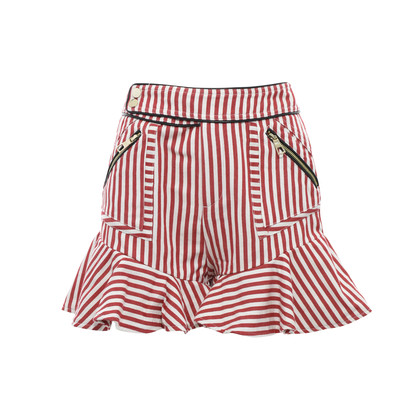 Authentic Second Hand Three Floor Alpha Stripe Shorts (PSS-197-00038)